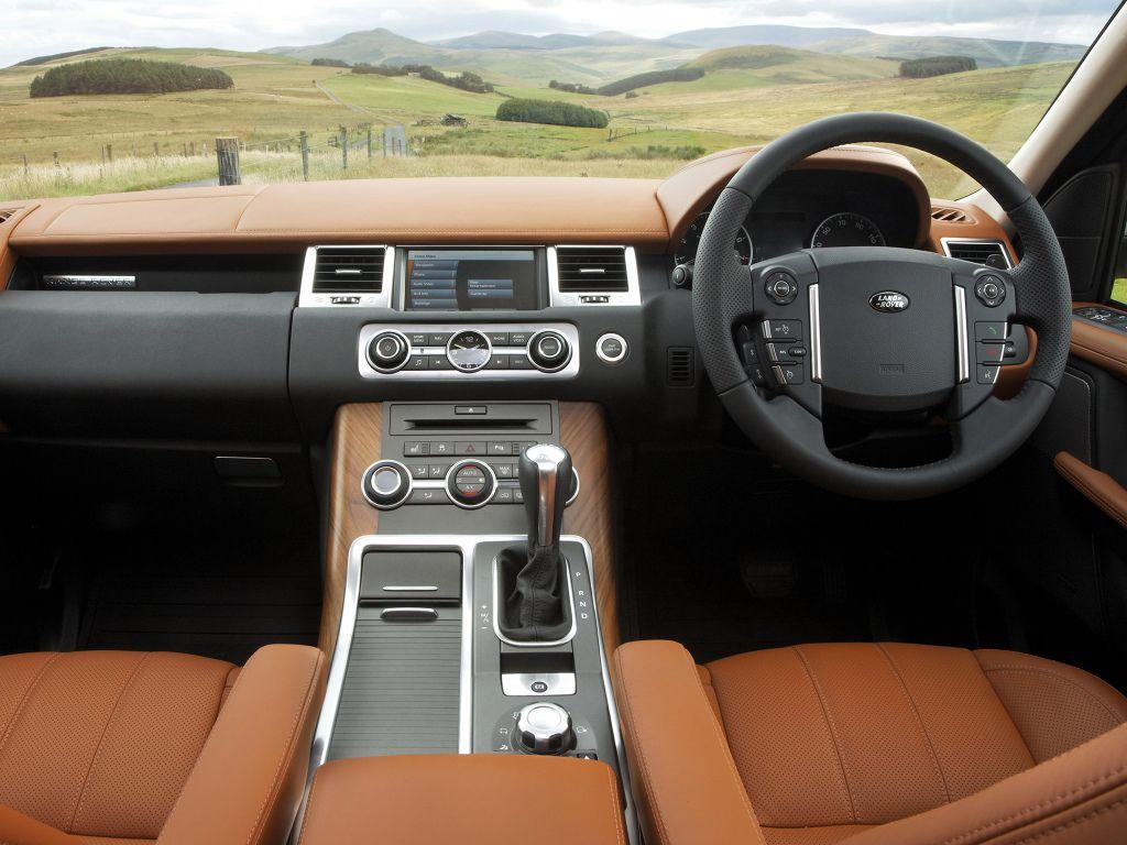 Front panel Range Rover Sport Supercharged UKspec '2009