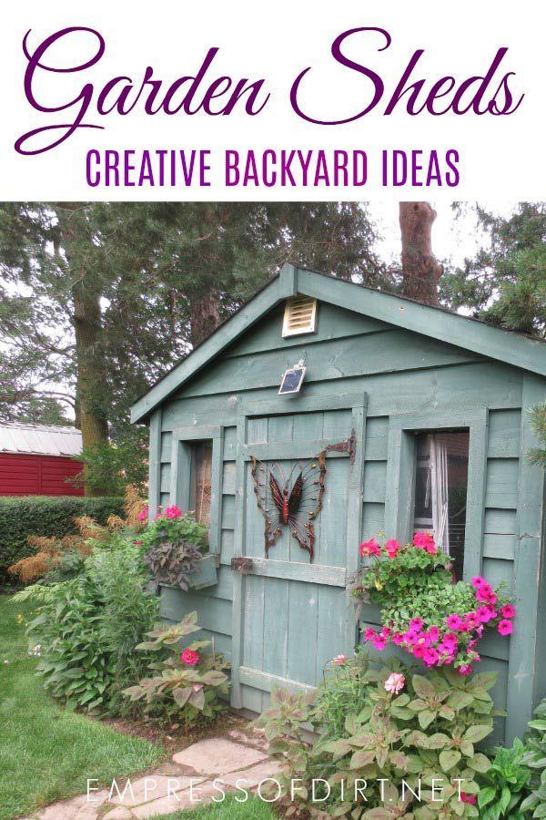 50 Creative Garden Sheds (Photo Gallery) Backyard sheds