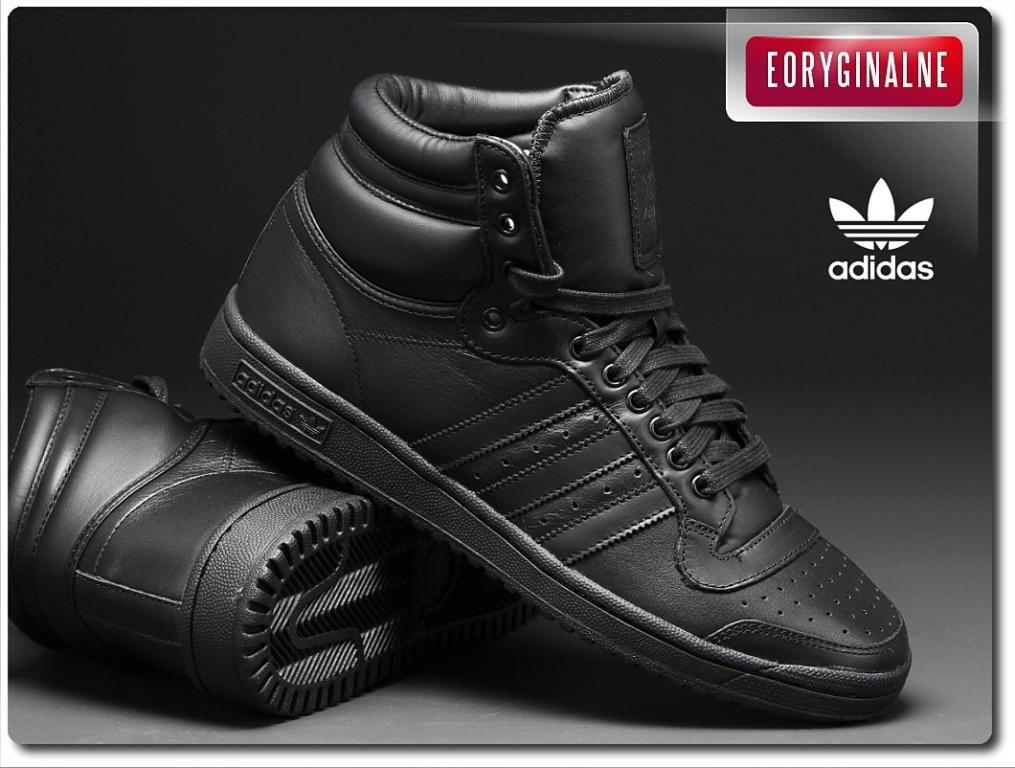 Buty Meskie Adidas Top Ten Hi B25349 R 40 2 3 47 Sneaker Head Adidas All Black Sneakers