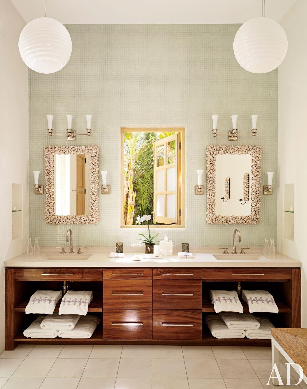 Home Tour: Heavenly Sunshine Villa in Mexico | master bathroom ...