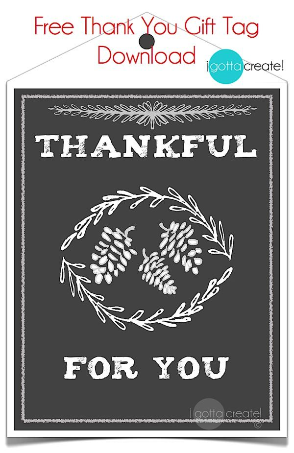 Thankful for you thanksgiving gift tag printable sheet at i thankful for you thanksgiving gift tag printable sheet at i gotta create negle Choice Image