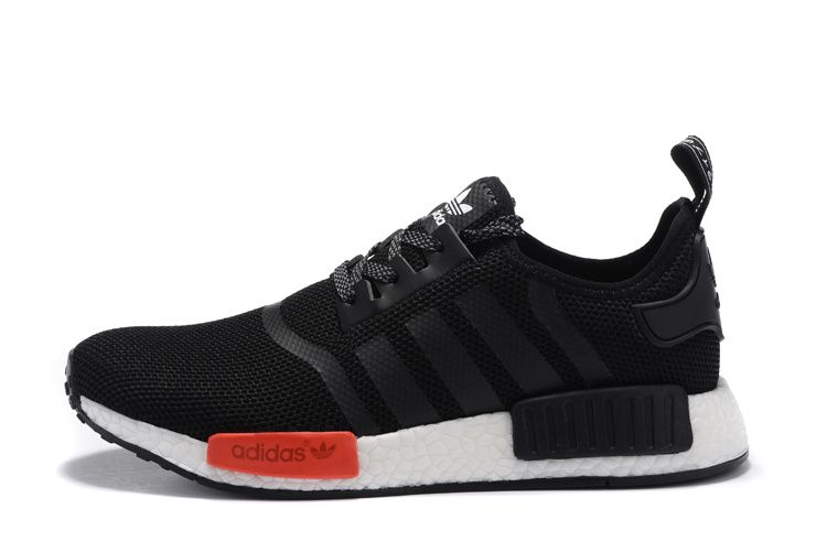 adidas nmd r1 womens black and red