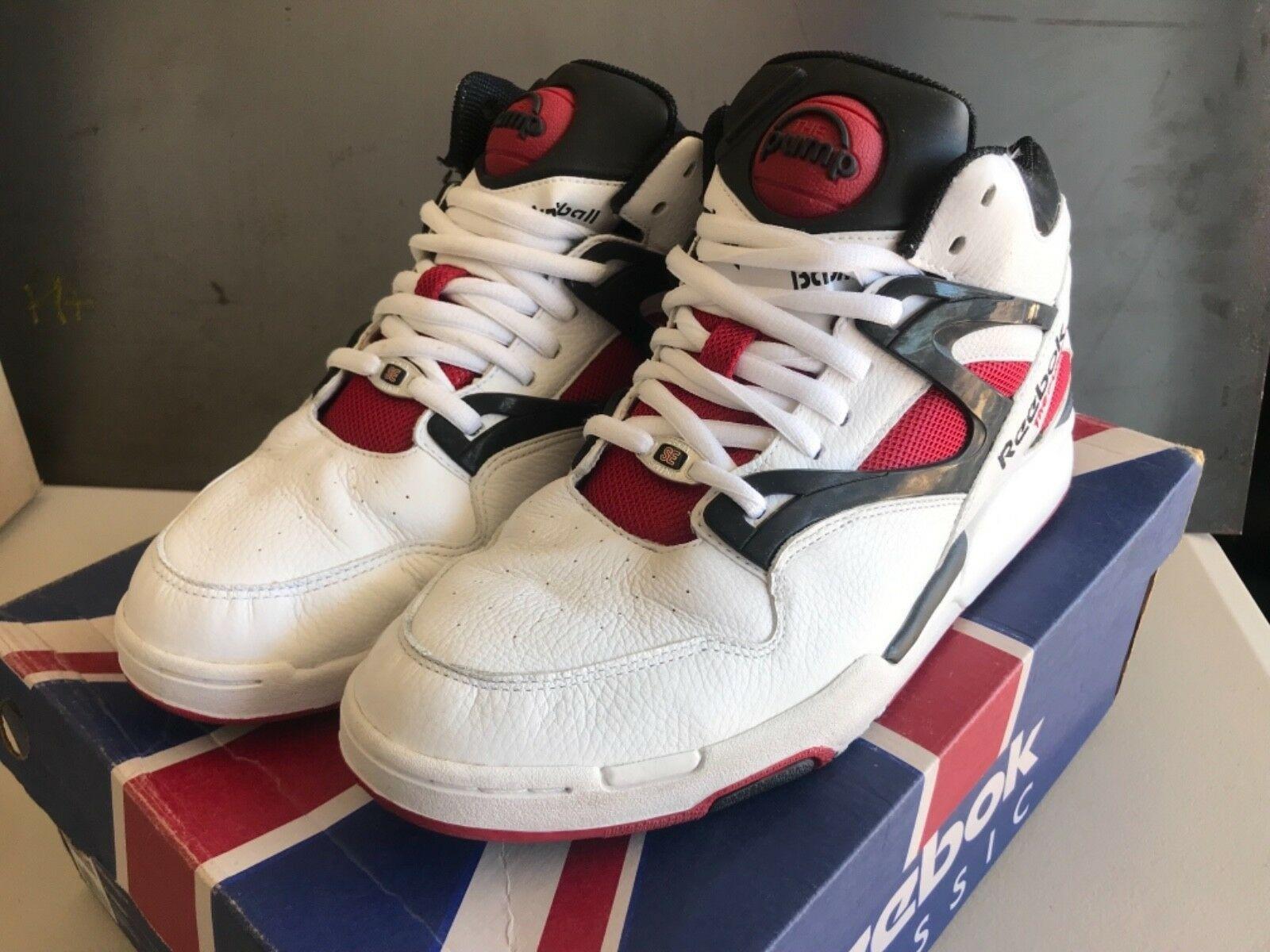 Vintage Look Reebok Pump Omni Lite' Sneakers White