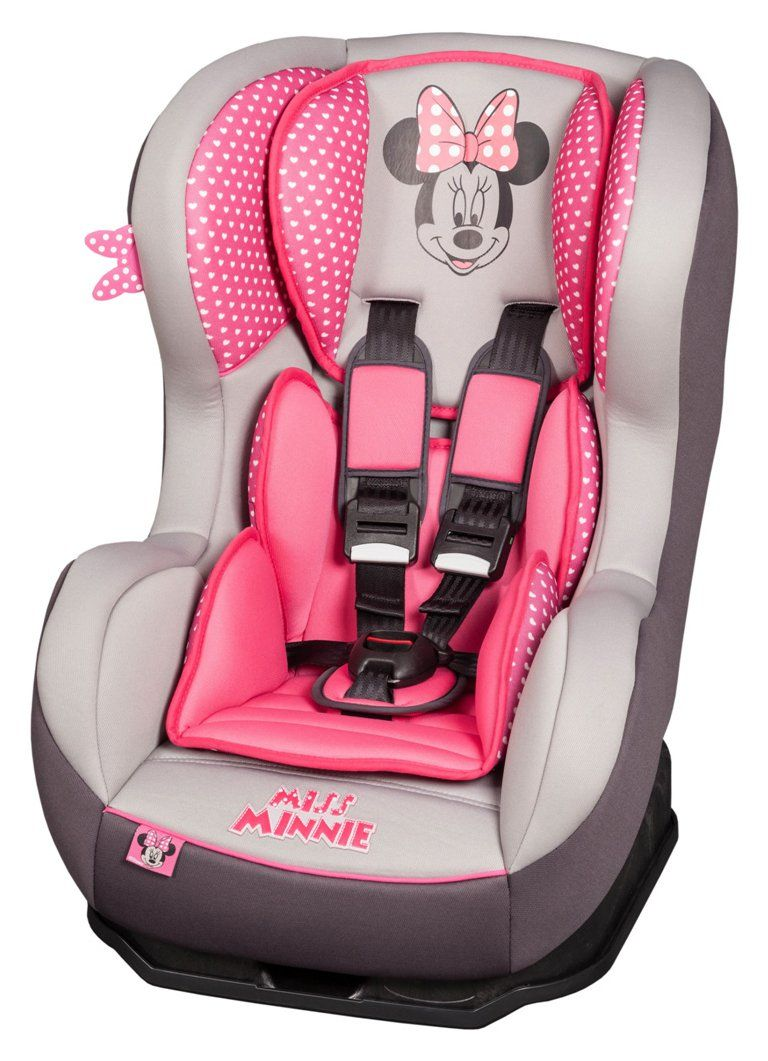 Pin By Emma Mcmahon On Siege Auto Minnie Mouse Car Seat Baby Minnie Mouse Baby Disney