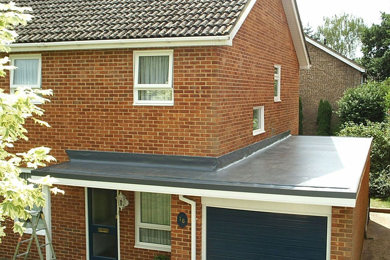 Exceptional A Contemporary, High Performance, Low Maintenance And Long Lasting Sarnafil  Single Ply Membrane Garage Roof Can Turn An Ordinary Flat Roof Garage Into  ...