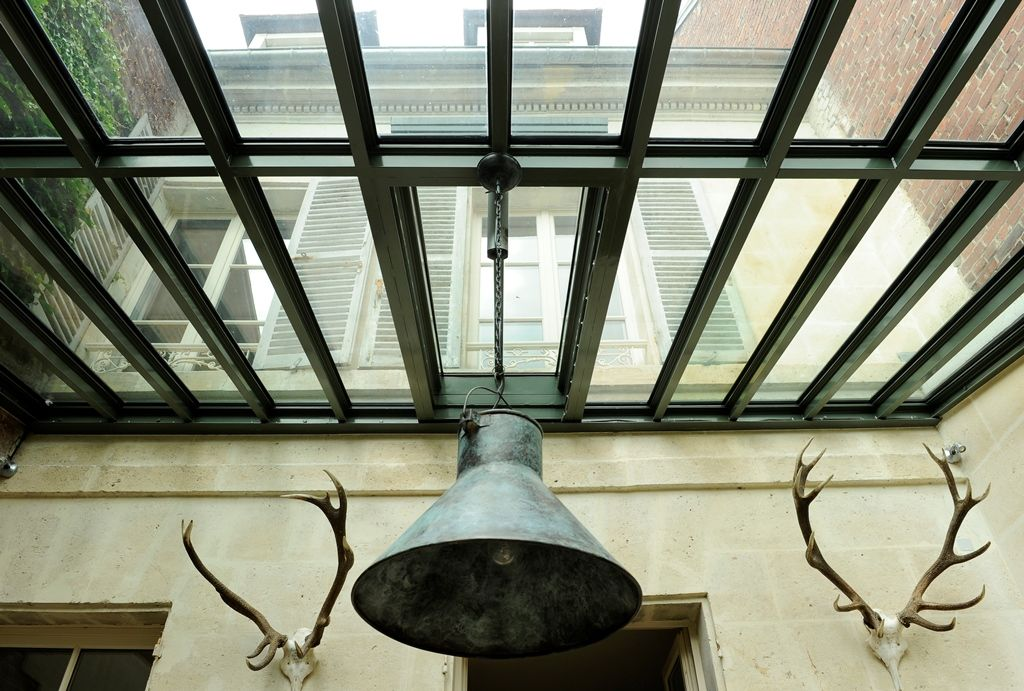 Captivant Beau Couvrir Une Cour Interieure Galerie De Photos