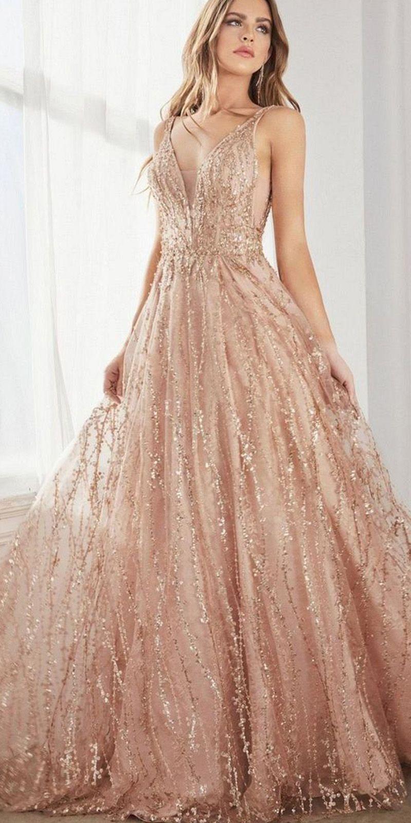 16++ Rose gold wedding dress ideas info