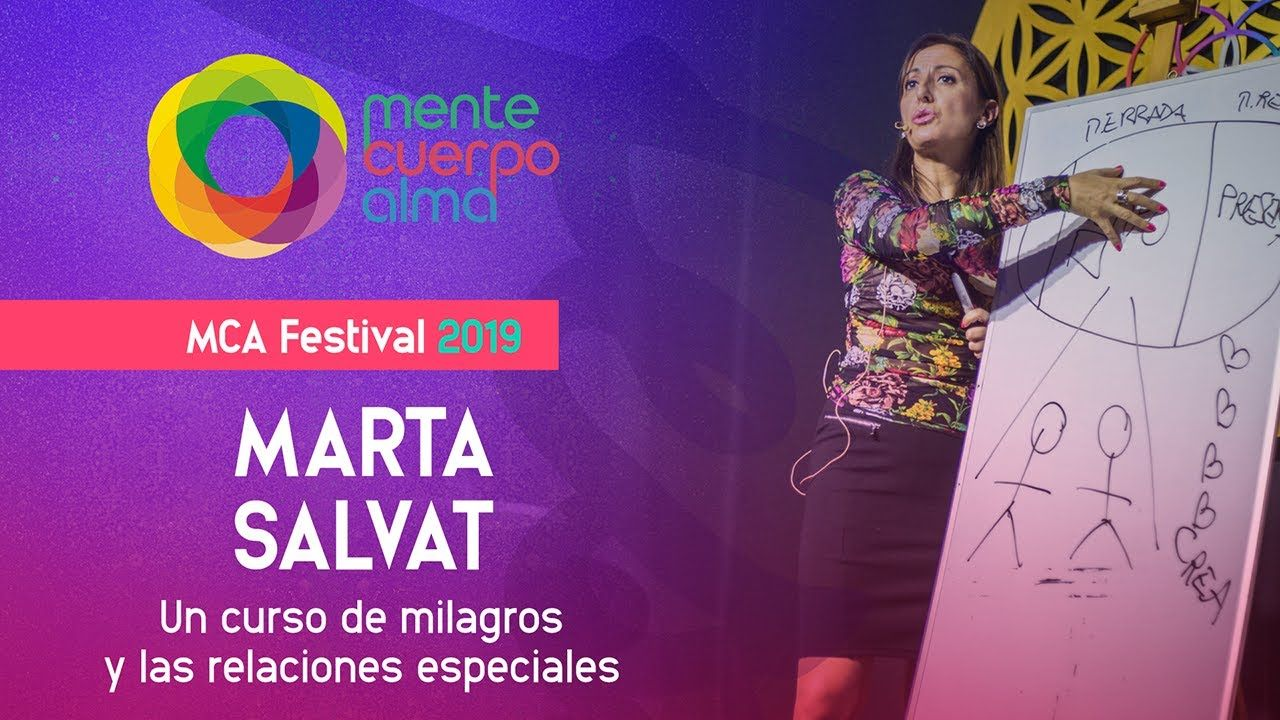 Mca Festival 2019 Marta Salvat En 2020 Un Curso De Milagros Ser Docente Festival