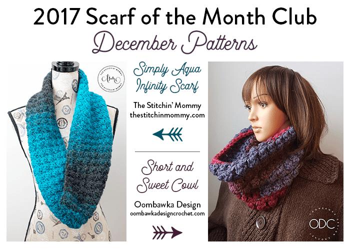 Simply Aqua Infinity Scarf - Free Crochet Pattern | Crochet Links ...