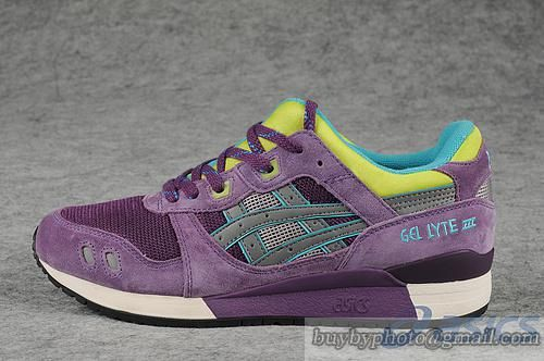 Womens And Mens Asics Gel Lyte III Sneaker HK538 Purple|only US$95.00 - follow me to pick up couopons.