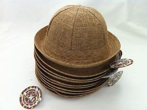 11e226ef4d WHOLESALE LOT OF 10 KIDS SAFARI HATS!!! children pith helmet jungle outback