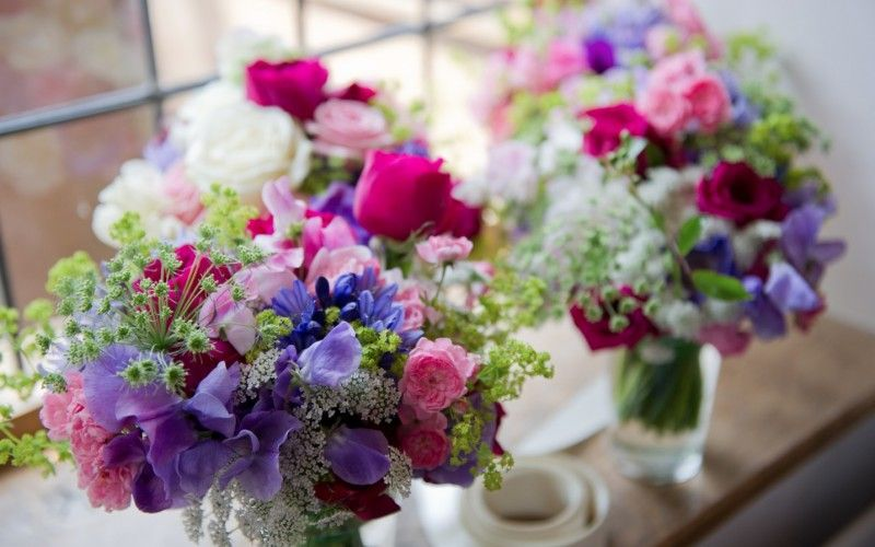 Summer Wedding Flowers Rough Acre B And