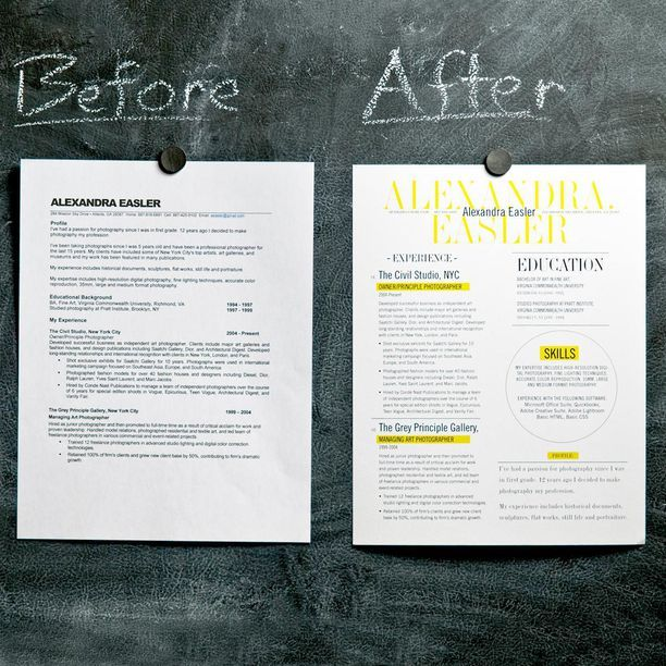 3 Page Resume Service Eye, Random and Future - Eye Catching Resume