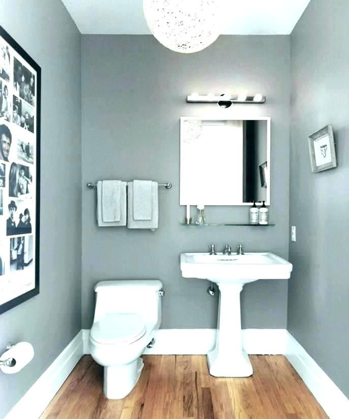 If You Re Wanting To Refresh Your Bathroom With A New Paint Job The Large Variety Gray Bathroom Decor Bathroom Colour Schemes Small Bathroom Color Schemes