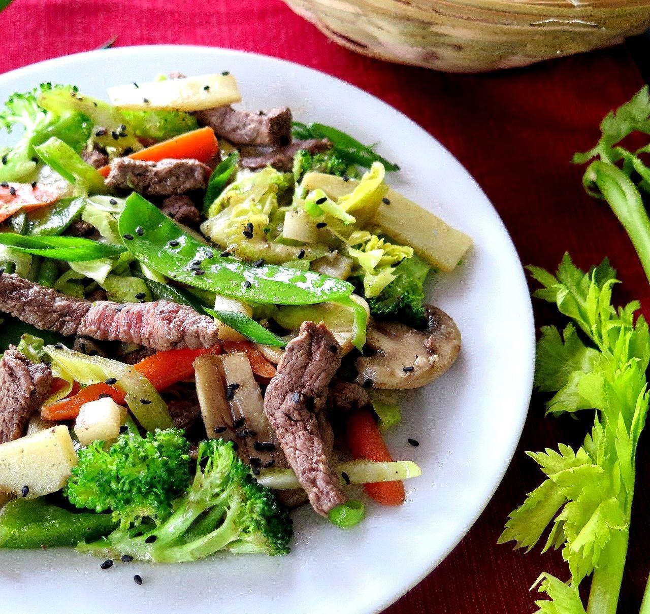 Beef Vegetable Stir Fry Sundaysupper Recipe Beef Vegetable Stir Fry Vegetable Stir Fry Recipe Food Guide