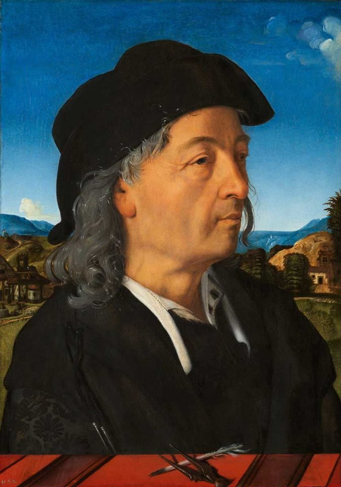 Piero di Cosimo, Portrait of Giuliano da Sangallo c. 1482-1483