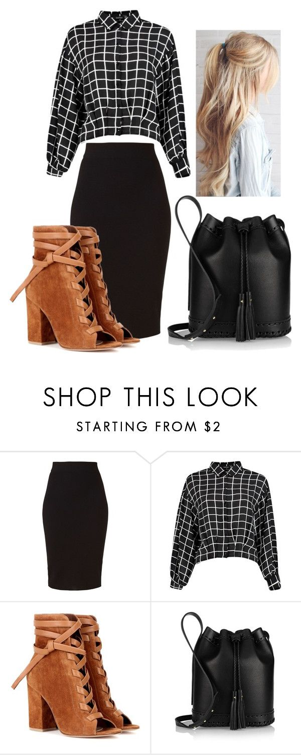 """""""Love the heels"""" by rhianna-alexandre on Polyvore featuring Winser London, Gianvito Rossi and Wendy Nichol"""