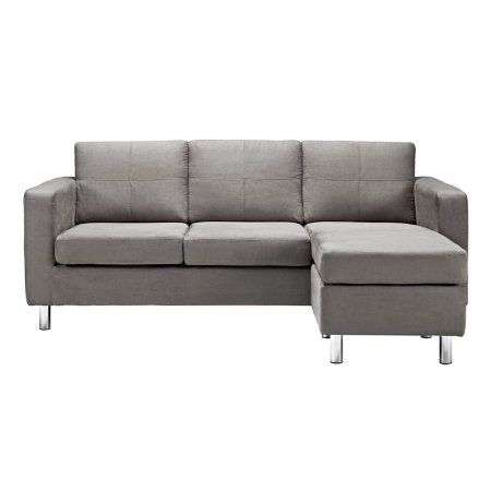 Home Sofas For Small Spaces Small Sectional Sofa Grey Sectional Sofa