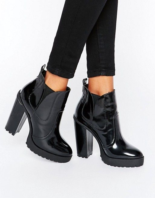 ASOS ELBUS High Chelsea Ankle Boots at asos.com