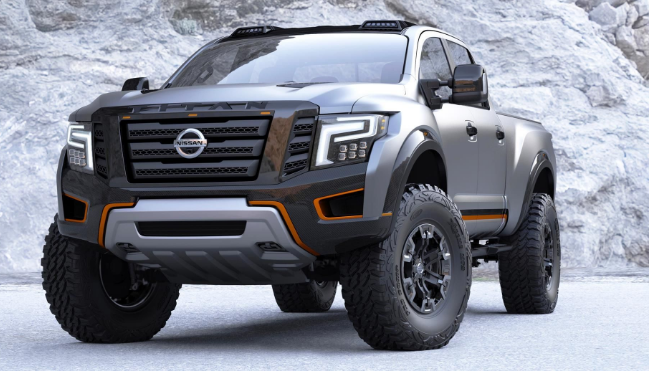 2020 Nissan Titan Diesel Review Interior Price Nissan Has At Long Endure Achieved Its Standpoint With The Disclosing Of The New Ti Nissan Titan Nissan Truk