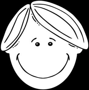 Boy Black White Clip Art Free Clip Art Clip Art Free Clipart Images
