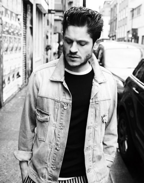 Iwan Rheon photographed byMatt Holyoak for INTERVIEW April...