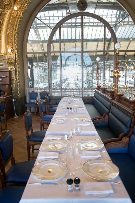 Le Train Bleu Renove Marius Toudoire Architecte D Origine Jean Marie Duthilleul Christophe Bottineau Architectes Du Ream Reamenagement Architecte Gare