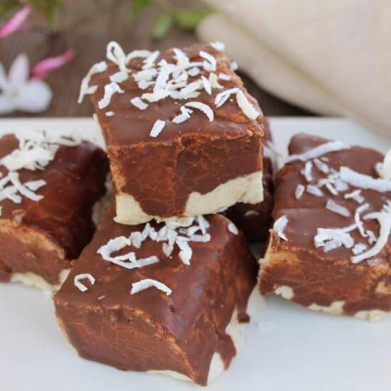 Chocolate Covered Marshmallows #healthymarshmallows