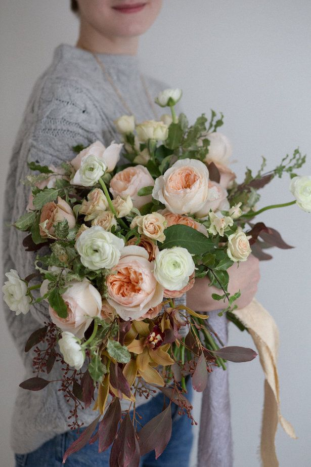 Fall Wedding Bouquet Perfection at a Flower Workshop ...