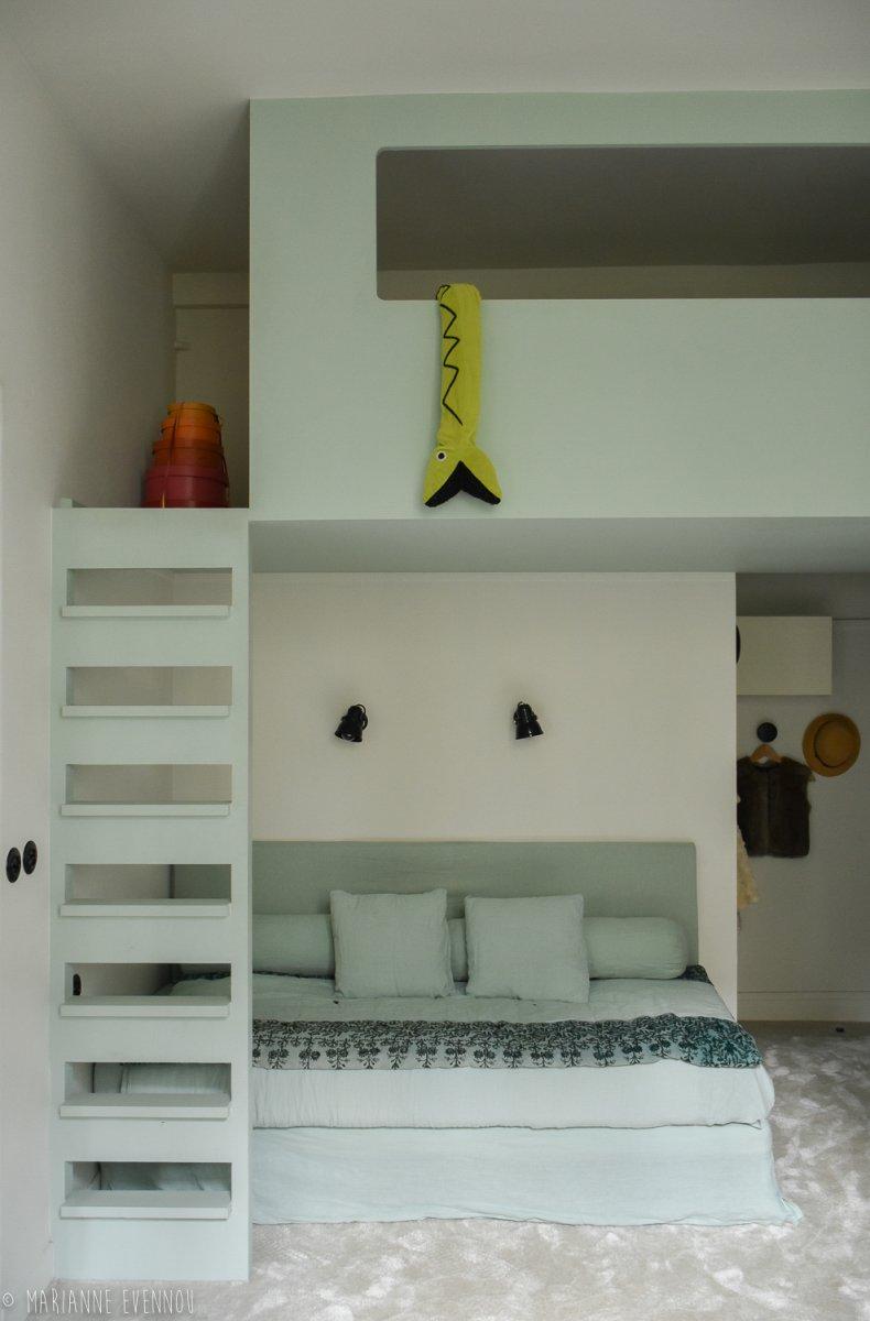 Chambre Ado Lit Mezzanine chantiers en 2020 | chambre ado lit, chambre ado lit