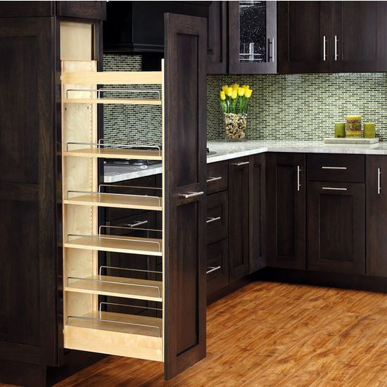 Kitchen Cabinets Pantry Pull Out Drawers | Rv 448 Tp43 8 1b