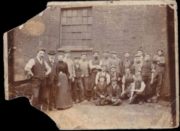 Ritherdon & Co employees at our old factory in Bolton at around 1900.