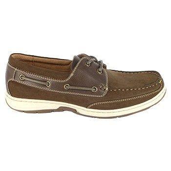 Nunn Bush Mens Outrigger Boat Shoes Brown 70 M