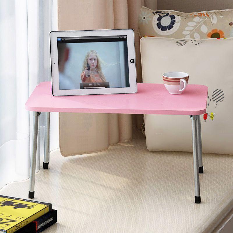 Fashion Computer Desks Portable Folding Laptop Table Sofa Bed