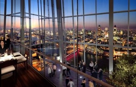 Oblix At The Shard, London. Officially Europeu0027s Tallest Bar, The 32nd Floor  Of