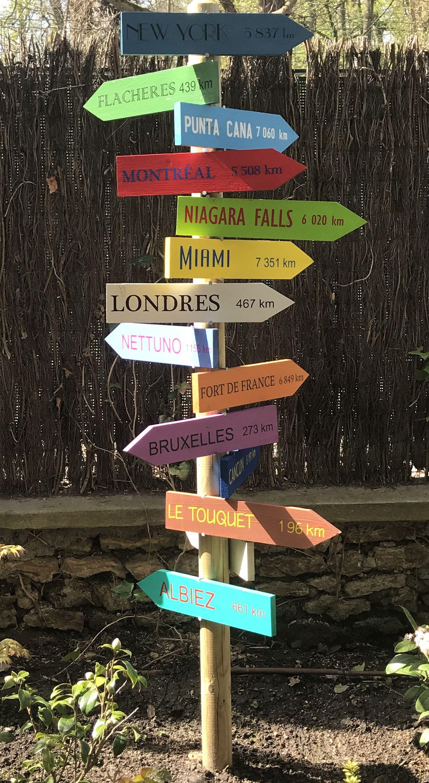 Panneau bois apéro , décoration jardin, flèches en bois ( sans ...