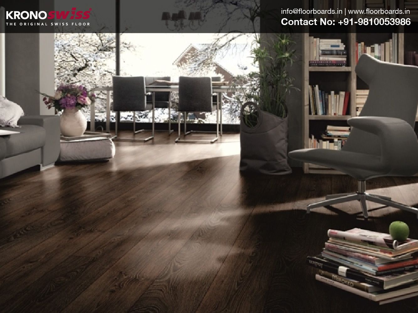 Switzerland S Most Elite Brand Kronoswiss Wooden Flooring Is Now Available In India Best Quality Long Warranty Easy Inst Commercial Flooring Flooring Floor Design