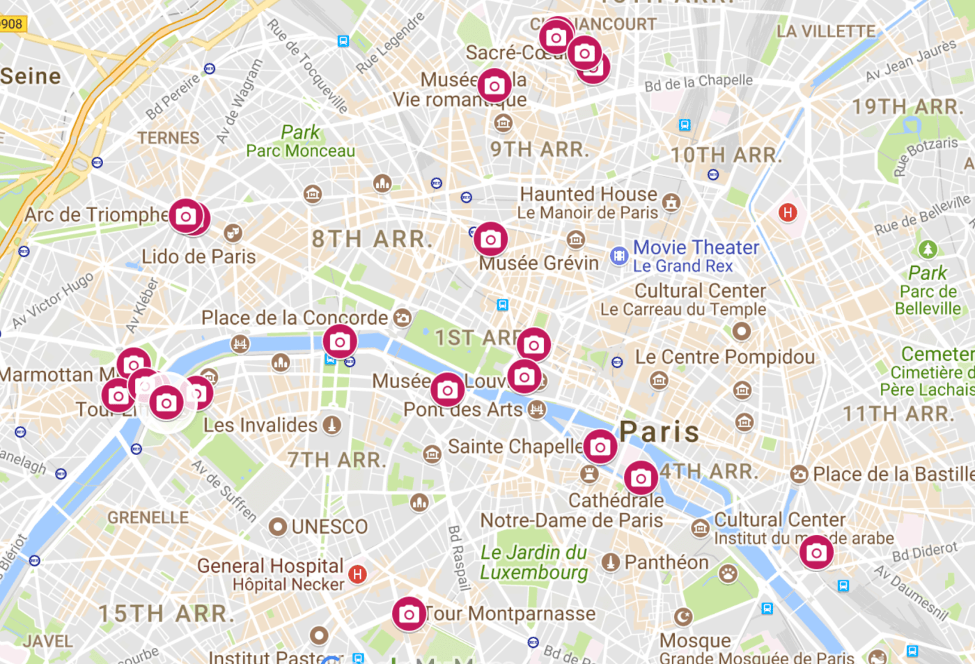 20 Perfect Paris Photography Locations And Where To Find Them