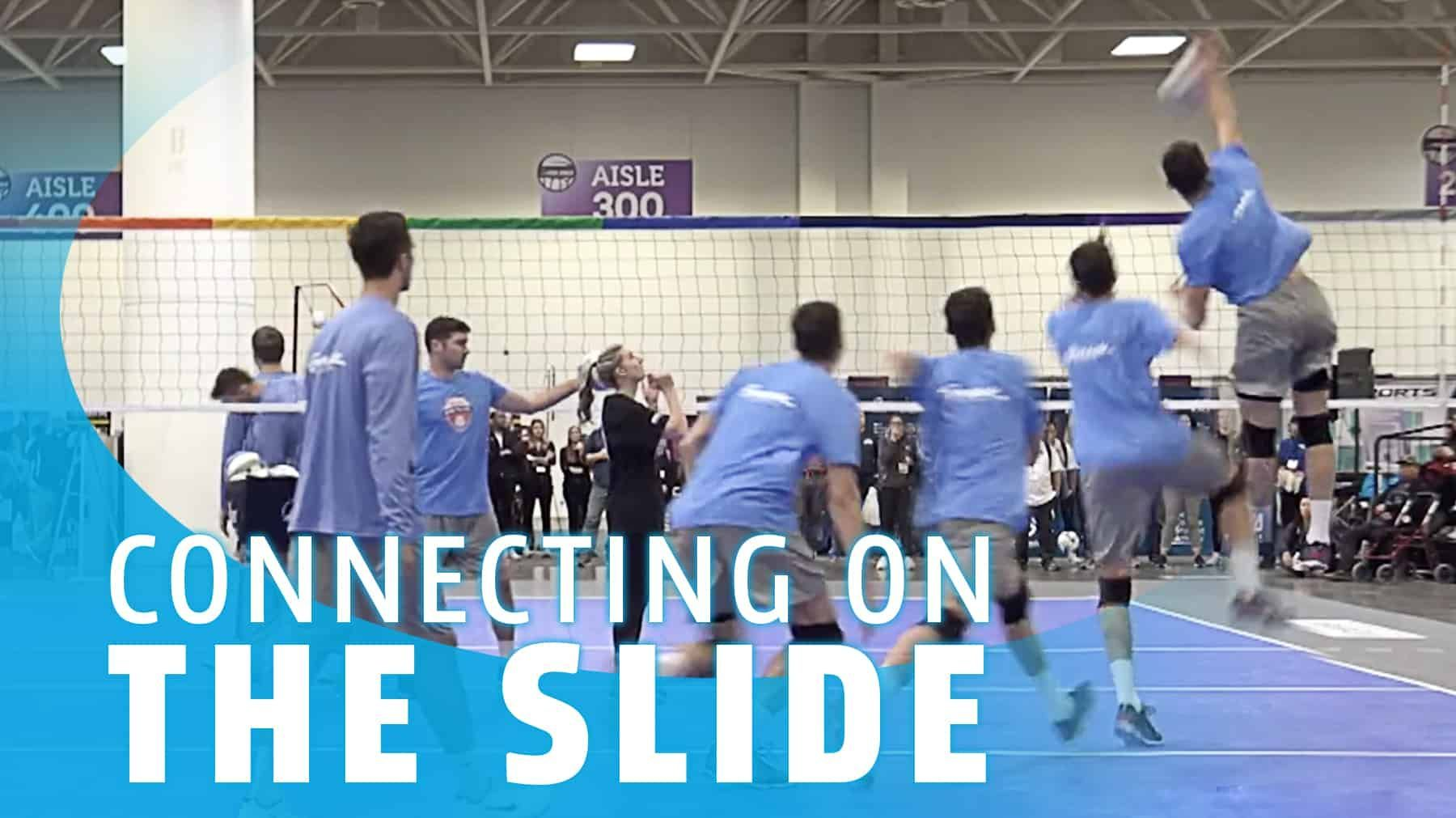 Connecting On The Slide The Art Of Coaching Volleyball Coaching Volleyball Volleyball Coaching