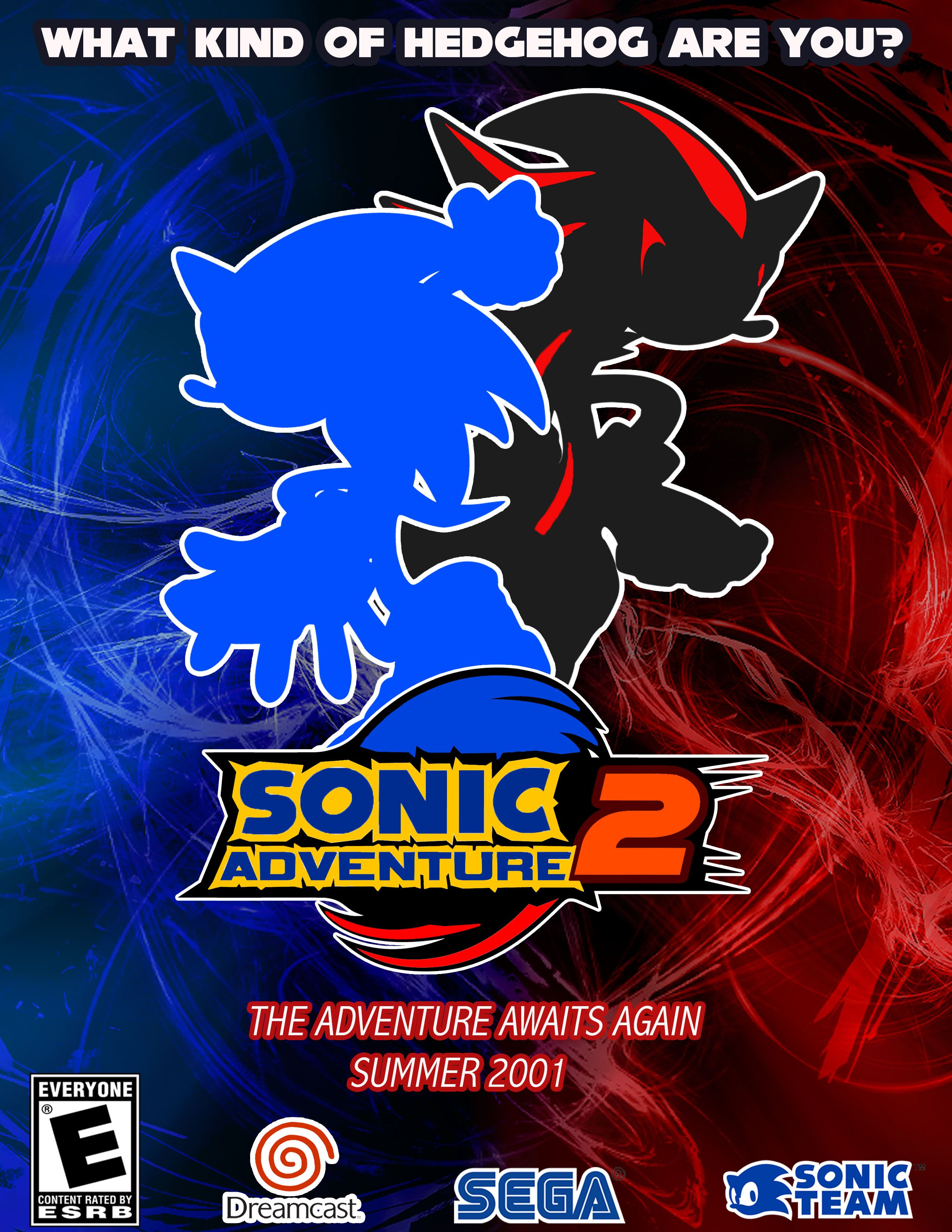 Sonic Adventure 2 Vector Poster By Sophia Yacoby Via Photoshop Sonic Shadow The Hedgehog Sonic The Hedgehog