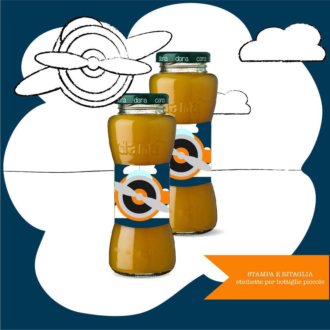 Aeroplano etichette bottiglia di MamillaDesign su Etsy