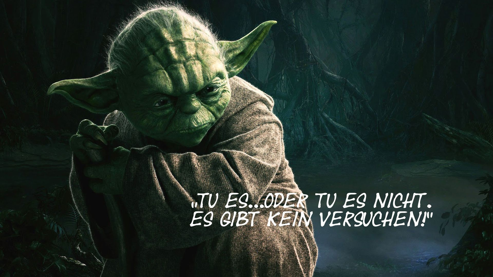 Yoda Weisheiten