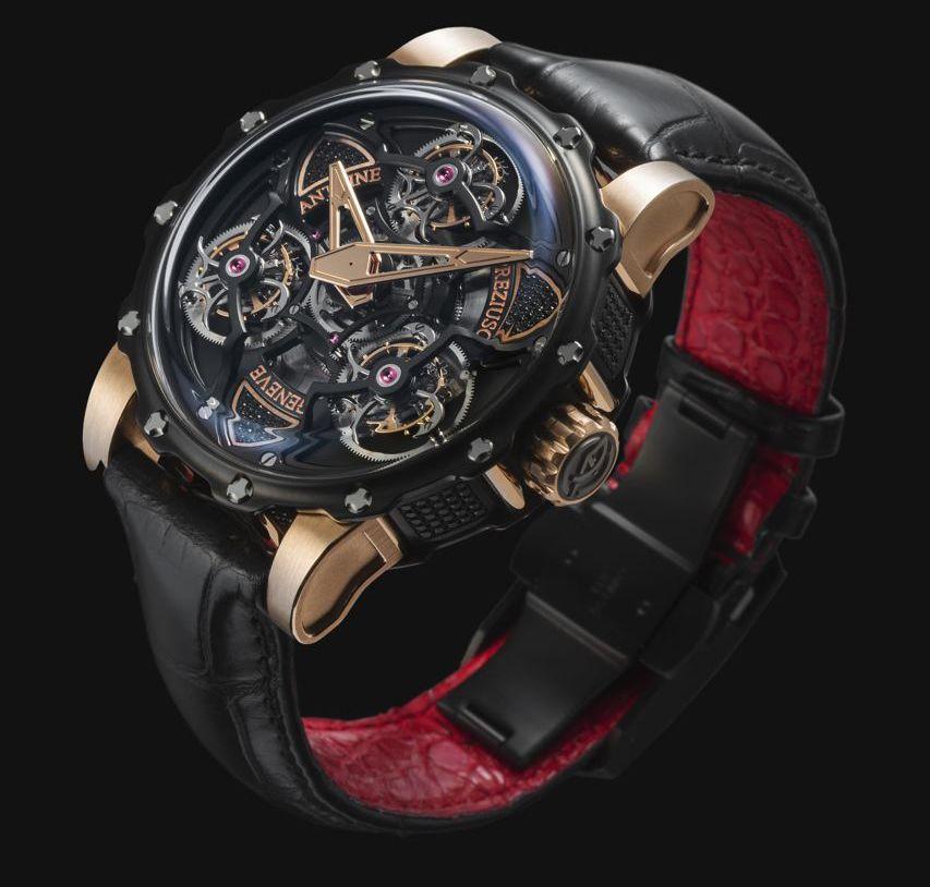Watch of the day : Antoine Prezioso the tourbillon of tourbillons #watch #watches #luxury #watchporn #luxurywatch #wiwt #watchoftheday #WOTD #chronollection #timepiece #design #antoineprezioso