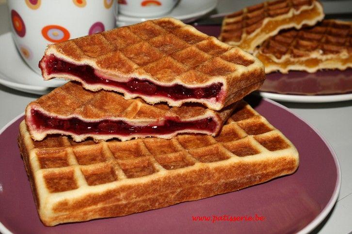 Gaufres aux fruits « Patisserie.be – Recepten voor patisserie, confiserie, ijs, brood en nagerechten