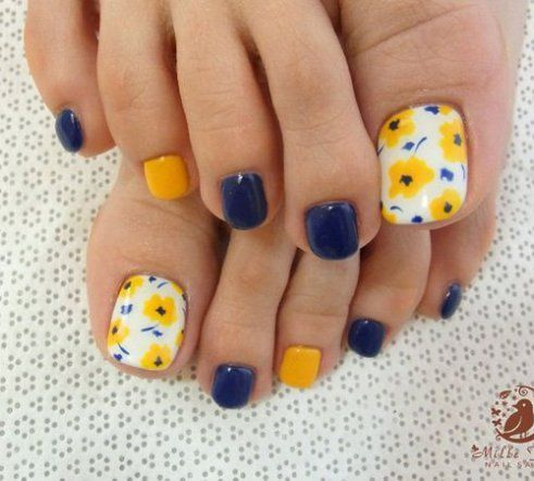 12 cute easy toenail designs for summer  easy toe nail