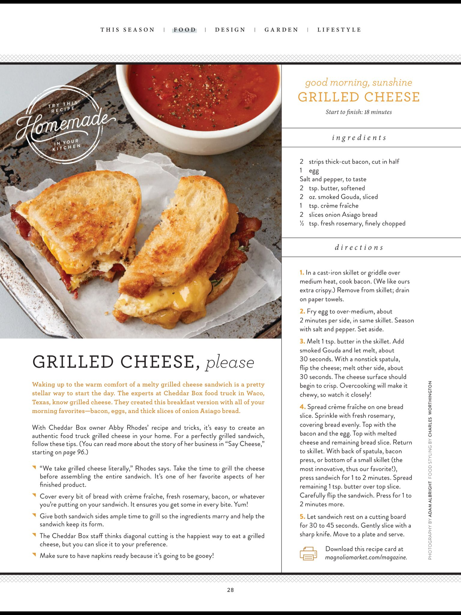 Recipe Box: Grilled Cheese, Please\