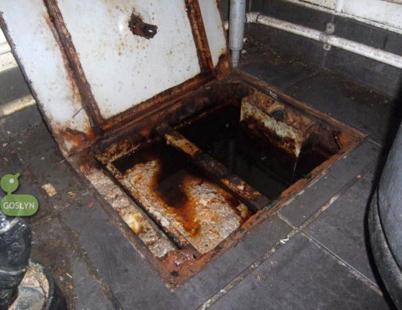 Pin on conventional passive grease traps