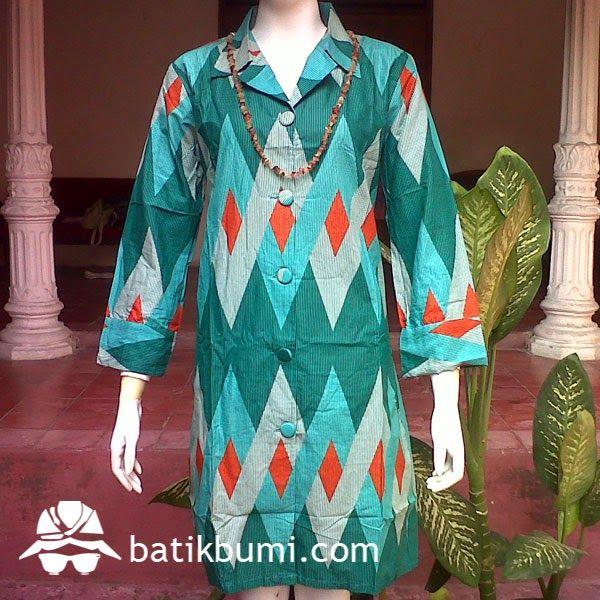 Dress Katun Danliris Motif Rang Rang DB 020  09c9fdb892
