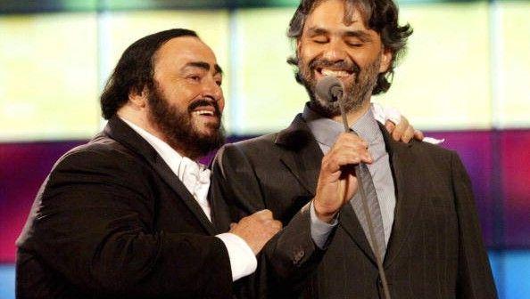 Pavarotti&Friends, i duetti con Bocelli, Bono, James Brown, Mariah Carey, Eric Clapton   Singer, Opera singers, Sarah brightman