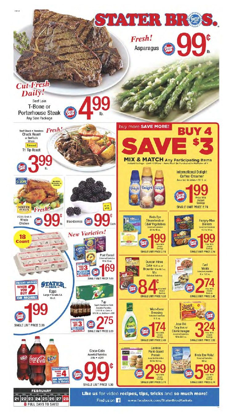 Stater Bros Weekly Ad Flyer September 25 October 1 2019 Weeklyad123 Com Weekly Ad Circular Grocery Stores Weekly Ads Grocery Fresh Meat